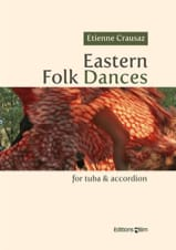 Eastern Folk Dances - Etienne Crausaz - Partition - laflutedepan.com