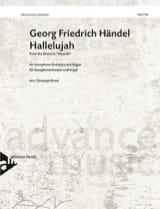Hallelujah HAENDEL Partition Saxophone - laflutedepan.com