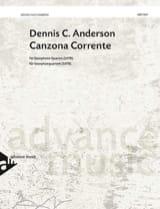 Canzona Corrente Dennis C. Anderson Partition laflutedepan.com