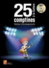 25 comptines à la guitare MP3 Partition Guitare - laflutedepan.com