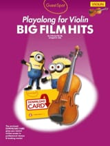 Guest Spot - Big Film Hits Playalong For Violin laflutedepan.com