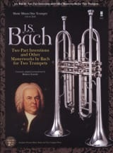 BACH - Two Part Inventions For Two Trumpets - Partition - di-arezzo.fr