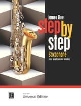 Step by step James Rae Partition Saxophone - laflutedepan.com