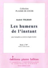 Les Humeurs de l'instant André Telman Partition laflutedepan.com