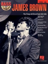 James Brown - Bass Play-Along Volume 48 - James Brown - Sheet Music - di-arezzo.co.uk