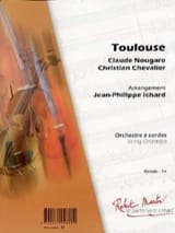 Claude Nougaro - Toulouse - Sheet Music - di-arezzo.co.uk