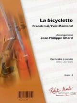 La Bicyclette Yves Montand & Francis Lai Partition laflutedepan.com