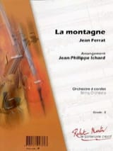 Jean Ferrat - The mountain - Sheet Music - di-arezzo.com