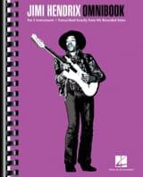 Jimi Hendrix Omnibook Jimi Hendrix Partition laflutedepan.com