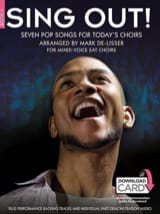Sing Out! Seven Pop Songs For Today's Choirs - Book 4 - laflutedepan.com