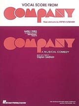Stephen Sondheim - Company - Vocal Score - Sheet Music - di-arezzo.co.uk