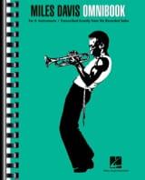 Miles Davis - Miles Davis Omnibook - Eb - Partition - di-arezzo.fr