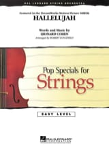 Hallelujah - Easy Pop Specials For Strings laflutedepan.com