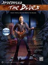 Shredding the blues Dave Martone Partition Guitare - laflutedepan