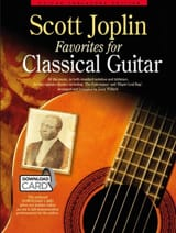Scott Joplin - Scott Joplin Favorites For Classical Guitar - Partition - di-arezzo.fr