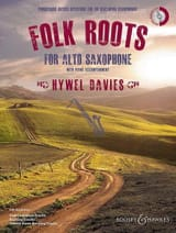 Hywel Davies - Folk Roots for Alto Saxophone - Sheet Music - di-arezzo.co.uk