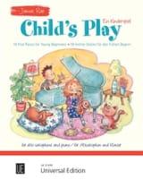 Child's Play James Rae Partition Saxophone - laflutedepan.com