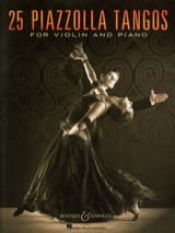 25 Piazzolla Tangos pour Violon et Piano Astor Piazzolla laflutedepan
