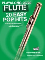 Playalong 20/20 Flute 20 Easy Pop Hits Partition laflutedepan.com