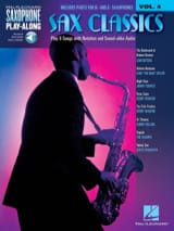 Saxophone Play-Along Volume 4 - Sax Classics laflutedepan.com
