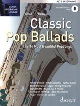 Classic Pop Ballads Partition Saxophone - laflutedepan.com
