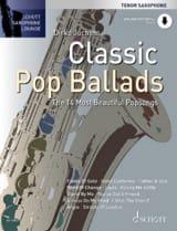 Classic Pop Ballads Partition laflutedepan.com