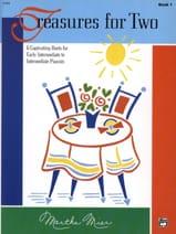 Threasures for Two - Book 1 Martha Mier Partition laflutedepan.com