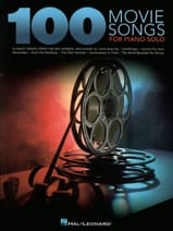 100 Movie Songs for Piano Solo Partition Piano - laflutedepan.com