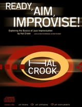 Hal Crook - Ready, Aim, Improvise! with 2 CDs - Sheet Music - di-arezzo.co.uk