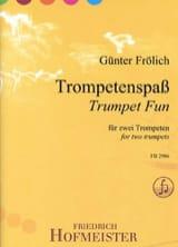 Günter Frölich - Trumpet Fun - Partition - di-arezzo.fr