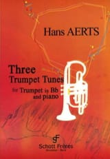 3 Easy Trumpet Tunes Hans Aerts Partition Trompette - laflutedepan