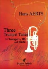 Hans Aerts - 3 Easy Trumpet Tunes - Partition - di-arezzo.fr