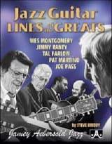 Jazz Guitar Lines Of The Greats METHODE AEBERSOLD laflutedepan.com