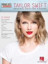 Taylor Swift - Taylor Swift - Original Keys for Singers - Partition - di-arezzo.fr
