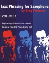 METHODE AEBERSOLD - Jazz Phrasing for Saxophone - Volume 1 with 2 CDs - Sheet Music - di-arezzo.co.uk