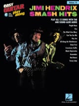 Jimi Hendrix - Easy Guitar Play-Along Volume 14 - Jimi Hendrix Smash Hits - Partition - di-arezzo.fr