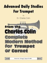 Charles Colin - Advanced Daily Studies for Trumpet Gold Cornet - Sheet Music - di-arezzo.co.uk