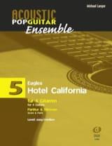 Hotel California - Acoustic pop guitar ensemble N°5 laflutedepan