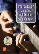 Improvisation avec les pentatoniques à la guitare avec CD laflutedepan.com