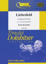 Liebesleid Fritz Kreisler Partition Trompette - laflutedepan.com