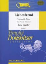 Liebesfreud Fritz Kreisler Partition Trompette - laflutedepan.com