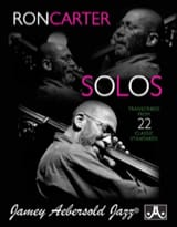 METHODE AEBERSOLD - Ron Carter Solos - Volume 1 Transcribed From 22 Classic Standards - Sheet Music - di-arezzo.com