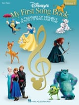 DISNEY - My First Songbook - Piano Facile - Partition - di-arezzo.fr
