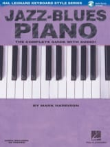 Jazz-Blues Piano Mark Harrison Partition Jazz - laflutedepan.com