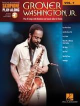 Saxophone Play-Along Volume 7 - Grover Washington, Jr. laflutedepan.com