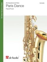 Paris Dance Pascal Proust Partition Saxophone - laflutedepan.com
