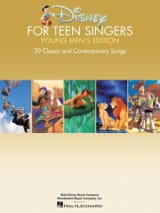 DISNEY - Disney For Teen Singers - Young Men's Edition - Partition - di-arezzo.fr