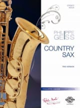 Country Sax - Philippe Geiss - Partition - laflutedepan.com