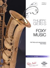 Philippe Geiss - Foxy Music - Partition - di-arezzo.fr
