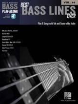 Bass Play-Along Volume 46 Best Bass Lines Ever - laflutedepan.com